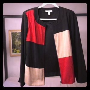 Color Block JM Collection Blazer